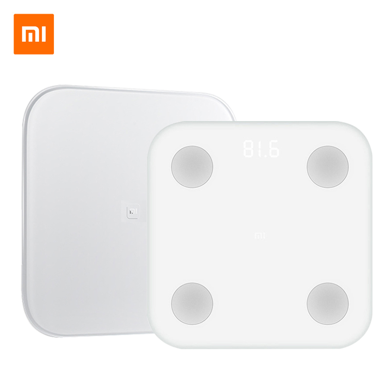 Original Xiaomi Mi Smart Scale 2 Weight Health Mifit APP Body Composition Monitor Body Fat BMR Test Smart Scale With LED Display xiaomi smart scale 2 page 4