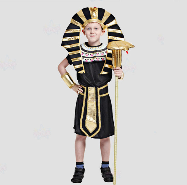 egyptian clothing egyptian pharaoh costumes for boys halloween cosplay costumes performance clothing black robe disguise boy  sc 1 st  Aliexpress & Online Shop egyptian clothing egyptian pharaoh costumes for boys ...