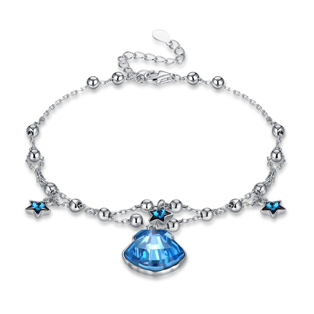 TE304 Best Quality 925 sterling silver color classical Simple Bracelet unisex for lovers Jewelry