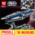 Lepin 05072 Star War Series The Limited Edition Malevolence Warship Set Children Building Blocks Bricks Boy`s Toys Model 9515