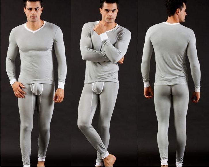 Aliexpress.com : Buy 2 Pieces Long Johns Thermal Underwear For Men ...