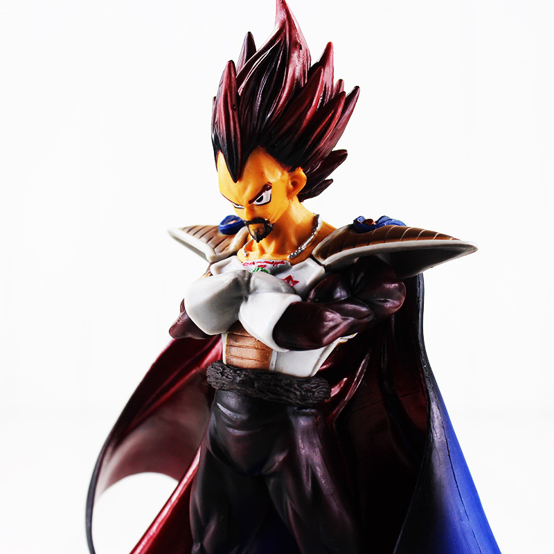 20cm NEW Hot Dragon Ball Z King Vegeta Father Action Figure Toys Christmas Gift toy Doll Collectors new hot 14cm one piece big mom charlotte pudding action figure toys christmas gift toy doll with box