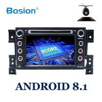 BOSION 2 din android 8.1 car DVD player for Suzuki grand vitara car radio stereo gps with steering wheel camera DVR Map IN DASH