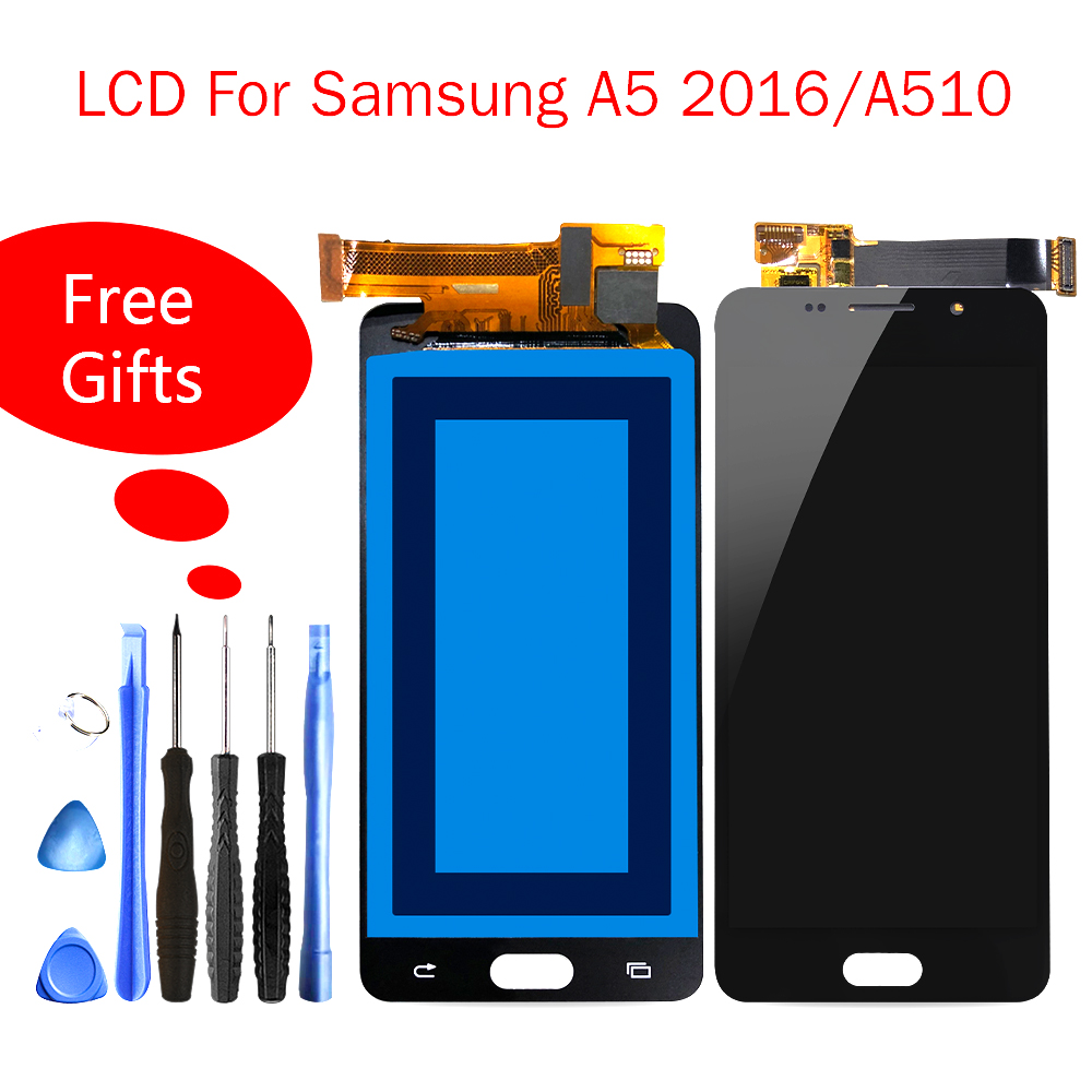 Quality Lcd AMOLED For Samsung Galaxy A5 2016 LC A510 A510F A510M SM-A510F Touch Screen Display Digitizer For Samsung A5 2016Quality Lcd AMOLED For Samsung Galaxy A5 2016 LC A510 A510F A510M SM-A510F Touch Screen Display Digitizer For Samsung A5 2016