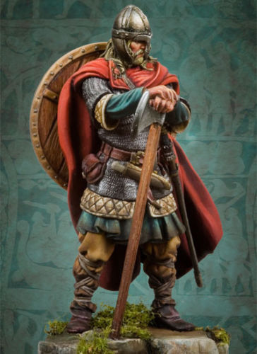 1/32 54mm Viking Raider 54mm    Toy Resin Model Miniature Kit Unassembly Unpainted