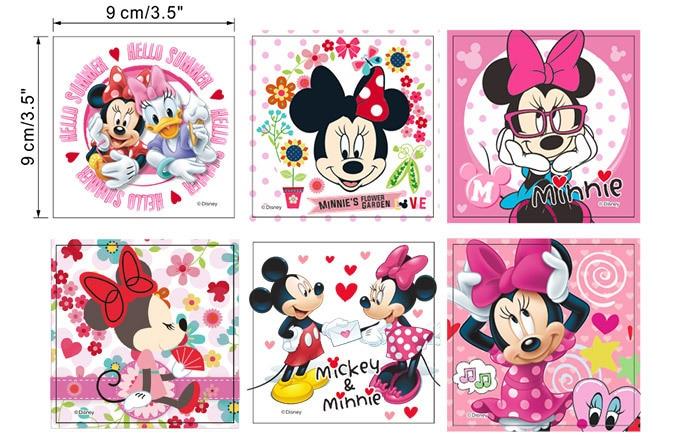 6 stücke Mickey Mouse Minnie maus Schalttafel Aufkleber Wohnkultur ...