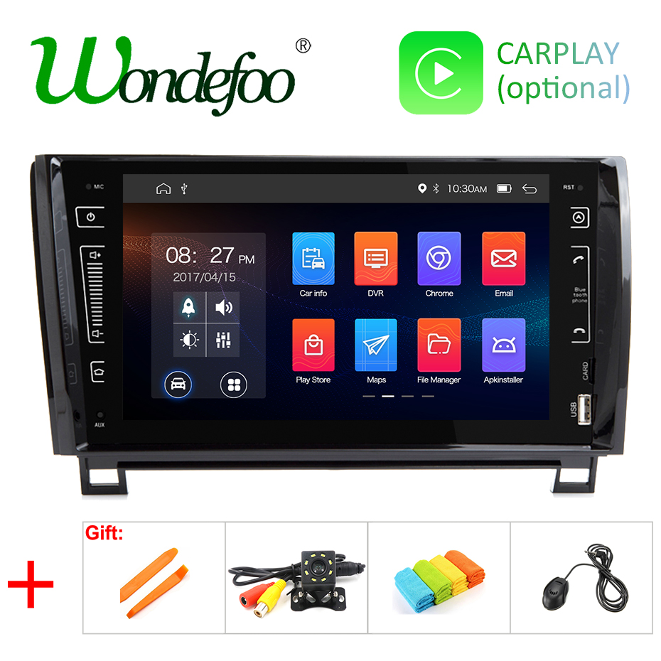 9 IPS DSP 4G 64G Android 9 0 2 DIN CAR multimedia player for Toyota Sequoia