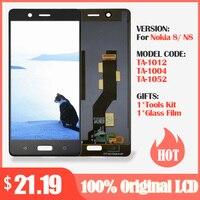 100% Original LCD Para Nokia 8 Display LCD com Tela de Toque Digitador Assembléia Preto para Nokia 8 Substituição display lcd|LCDs de celular|   -