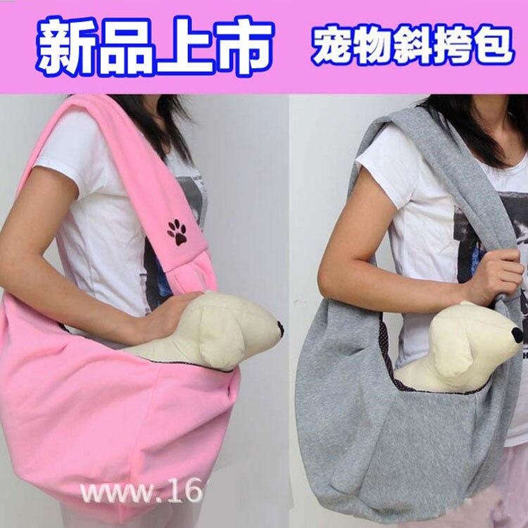 La mère kangourou poitrine sac chat messenger sac à dos sac à dos portable pet pet sac sac chien dans Cages portatives et poussettes de Maison & Jardin