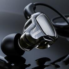 אוזניות אוזניות Hifi סטריאו העמוק בס אוזניות עם מיקרופון אוזניות עם היברידי נהג עבור ריצה ריצה הליכה