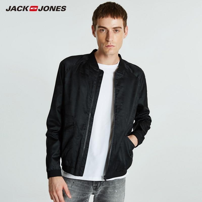 JackJones Men's Baseball Collar Plaid Jacket Menswear Sports 218321517