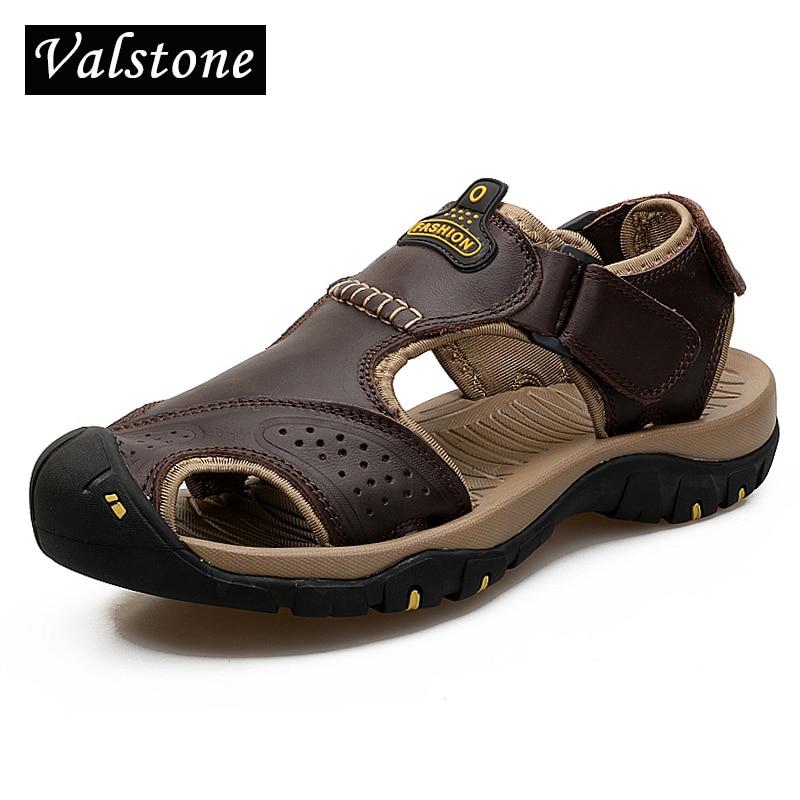 Valstone Ανδρικά δερμάτινα σανδάλια - Ανδρικά υποδήματα