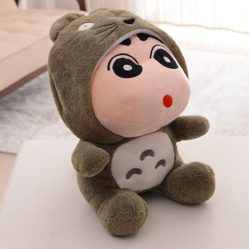 hot sale <font><b>toy</b></font> 35cm <font><b>Totoro</b></font> dolls kid <font><b>toy</b></font> Anime <font><b>toys</b></font> doll <font><b>Cute</b></font> <font><b>lovely</b></font> Kawaii Crayon <font><b>Totoro</b></font> <font><b>Plush</b></font> <font><b>toys</b></font> gift for boy brinquedos