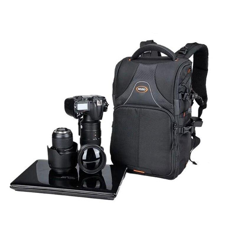 Benro Beyond B100N double-shoulder slr professional camera bag camera bag rain cover micro camera compact telephoto camera bag black olive