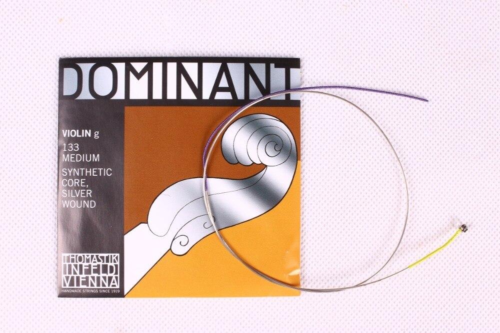 Livraison Gratuite Thomastik Dominant 135B Moyen Violon Cordes 4/4 Cordes Ensemble Complet G D UN E Cordes - 5