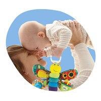 Baby Meisje/Jongen 0-12 Maand Speelgoed Kinderwagen/Bed Opknoping Vlinder/Bee Tafelbel Rammelaar/Mobiele bijtring Onderwijs Gevulde/Pluche Kid Speelgoed 5
