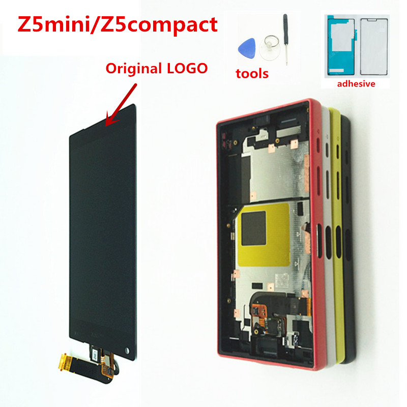 Original 4.6'' LCD For SONY Xperia Z5 Compact LCD Display Z5 MINI E5823 E5803 Touch Screen Digitizer Replacement Parts