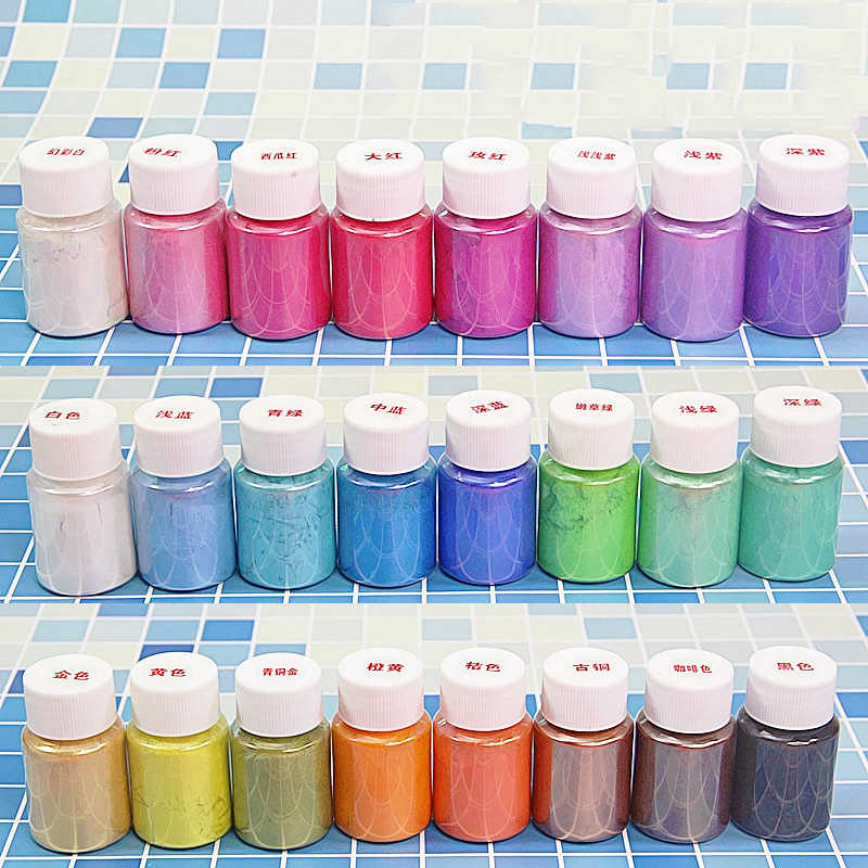DIY Slime Kit Glitter Powder Filler Pigment Decoration Toys Parents Kid Interactive lizun Pearl Powder Dye Fluffy Slime Supplies