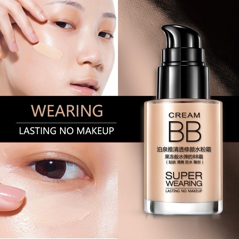BIOAOUA BB Cream Whitening Skin Care sun Block Moisturizing Ageless Anti Chapping Anti wrinkle brighten natural Beauty