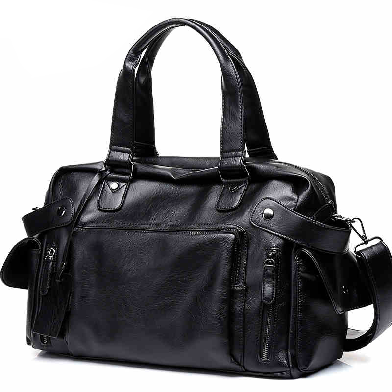 DCOS High Quality Men Travel Bag Leisure Male Handbag Vintage Shoulder Bag Men Messenger Duffel Tote Bag