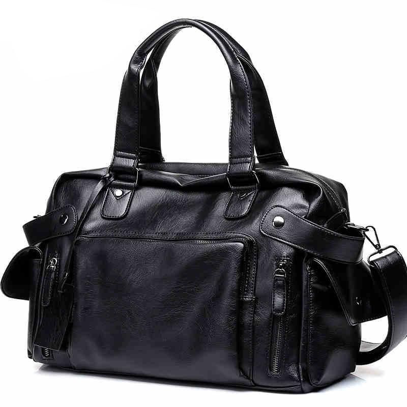 DCOS High Quality Men Travel Bag leisure Male Handbag Vintage Shoulder Bag Men Messenger Duffel Tote Bag