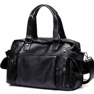 Image 1 - DCOS Hohe Qualität Männer Reisetasche freizeit Männlichen Handtasche Vintage Schulter Tasche Männer Messenger Seesack Tote Tasche