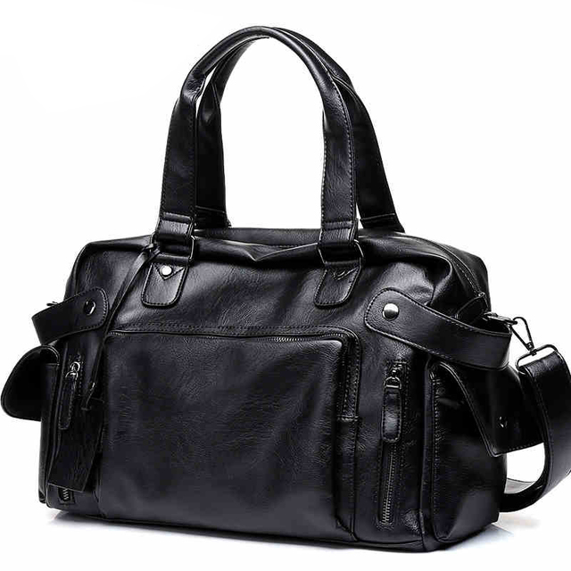 DCOS Hohe Qualität Männer Reisetasche freizeit Männlichen Handtasche Vintage Schulter Tasche Männer Messenger Seesack Tote Tasche
