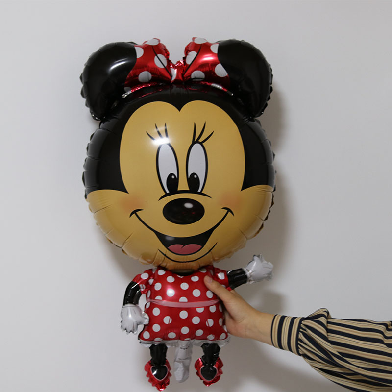new Mickey Minnie mouse foil balloon baby toys balloons birthday party supplies decoration