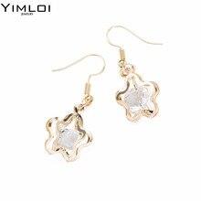 Фотография Gold Color Tree Shaped Tassel Drop Earrings Bohemia Style Velvet Long Dangle Earrings For Women Jewelry BKE003