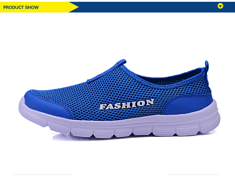 HTB1U1pJa. rK1Rjy0Fcq6zEvVXaq Summer New Women Sandals Air Mesh Women Casual Shoes Lightweight Breathable Water Slip-on Shoes Women Sneakers Sandalias Mujer