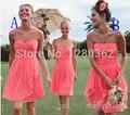2015 Hot Sale Mini Chiffon A-line Sweetheart Off the Shoulder Sleeveless Applique Floor-Length Cocktail Dress
