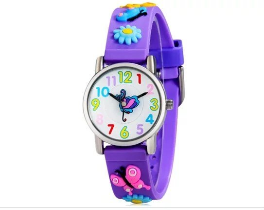 WILLIS Factory Price Sport butterfly Watch Wristwatch Childrens Boys Kids Waterp