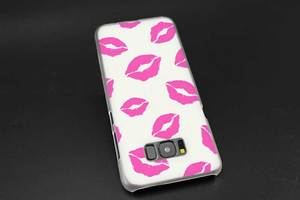 Sheli Kiss me губная помада Rouge Прозрачный чехол для Samsung S20 S6 S7 S8 S9 S10 Plus Edge Mini