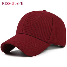 Summer Unisex women baseball caps men cotton breathable mesh baseball cap mens bone snapback golf hats black gorras caps outdoor