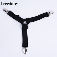 Leewince 4Pcs Set Three Or Two Head Holder Clip Sets Sheets Straps Length Adjustable Clamp Triangle