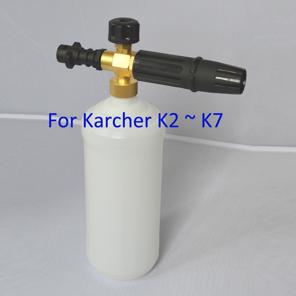 Prix pour Canon À mousse pour Karcher K2 K3 K4 K5 K6 K7 Haute Pression Rondelles