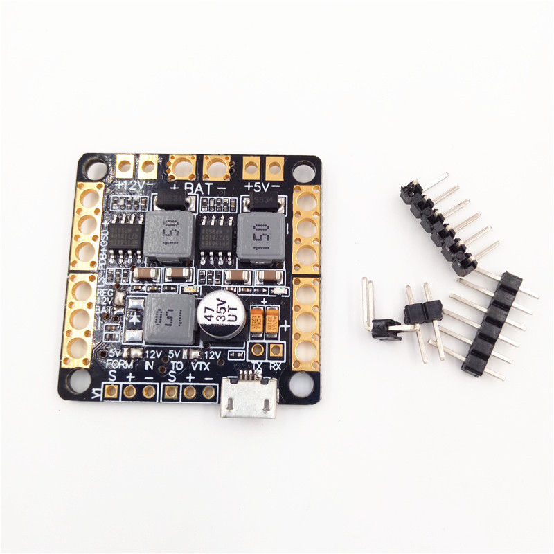 Tarot Naze32 F3 Flight Controller Power Distribution Board CC3D PDB Integrated OSD PDB Filter 5V 12V BEC Output for Multicopter apm pixhawk px4 5 in 1 pdb super shock absorber integrated power module esc power distribution board 5v