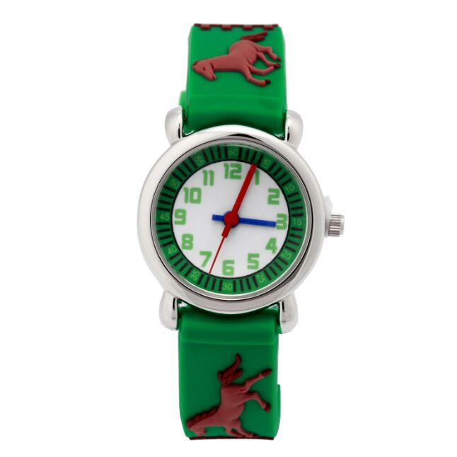 Brand WL Children silicone watch Brand Quartz Wrist Watch Baby For Girls Boys Waterproof horse kids watch 1pcs WL0013 new fashion design unisex sport watch silicone multi purpose date time electronic wrist calculator boys girls children watch