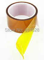 1x 12mm 20 Meters 0 1mm Thick High Temperature Withstand Two Sides Sticky Tape Polyimide Film