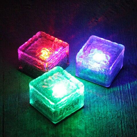 luzes solares do assoalho diodo emissor