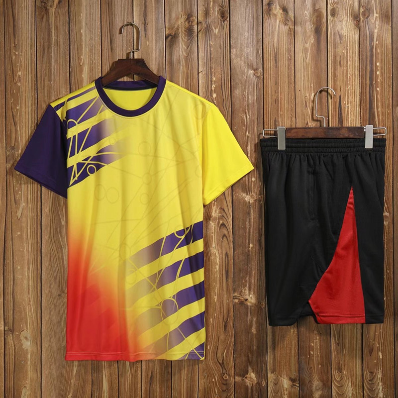 Table Tennis Jerseys , Badminton Jerseys , tennis Tshirts , Quick drying ping-pong Trainning Shirts, men athletic shorts Clothes