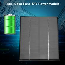 6W 12V Mini Portable Monocrystalline Silicon Solar Panel DIY Power Module Charger 200*170mm Hot sale