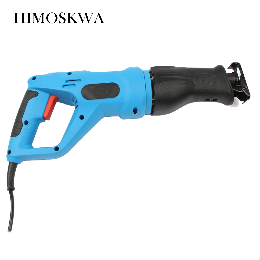 710w Reciprocating saw curve saw multifunctional household woodworking electric saws portable saw metal cutting machine 10pcs jig saw blades reciprocating saw multi cutting for wood metal reciprocating saw power tools accessories rct
