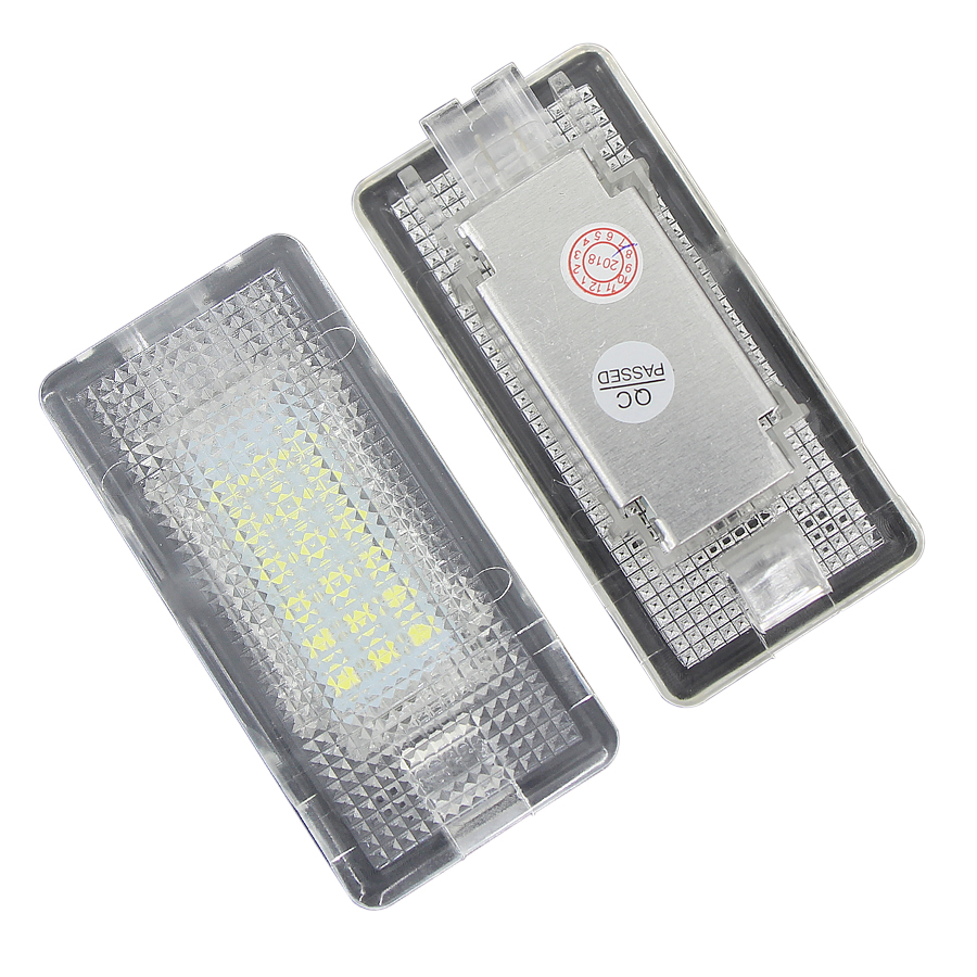 2Pcs Led Footwell Luggage Trunk Interior Light Glove Box Lamp No Error for BMW X5 E46 E39 E84 E90 E91 E92 E53 F10 F01 F02 image
