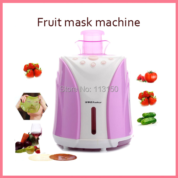 DHL EMS free shipping Automatic DIY Face Beauty Hydrating Moisture Acne Treatment Whitening Fruit Vegetable Facial Mask Machine dhl free shipping 6 in 1 diy face eye hand breast foot neck natural fruit