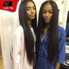 Silky Straight Brazilian Virgin Full Lace Human Hair Wigs Lace Front Silky Straight Brazilian virgin hair wigs with baby hair
