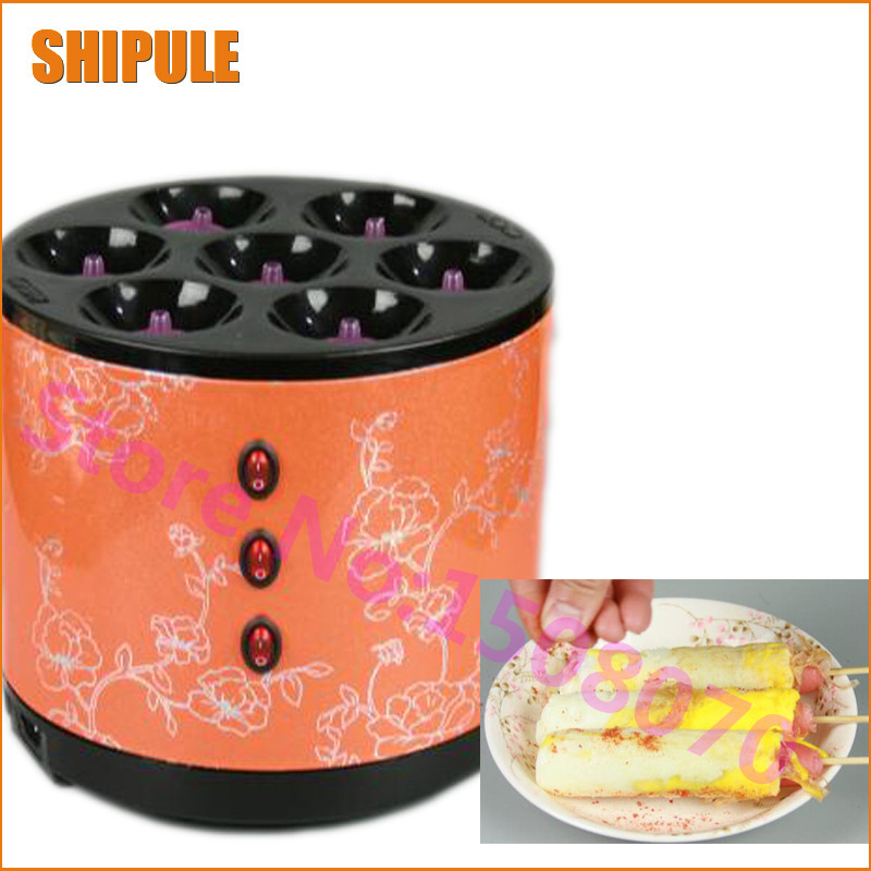 Made in China commercial egg sausage machine electric home use egg hot dog omelet waffle machine