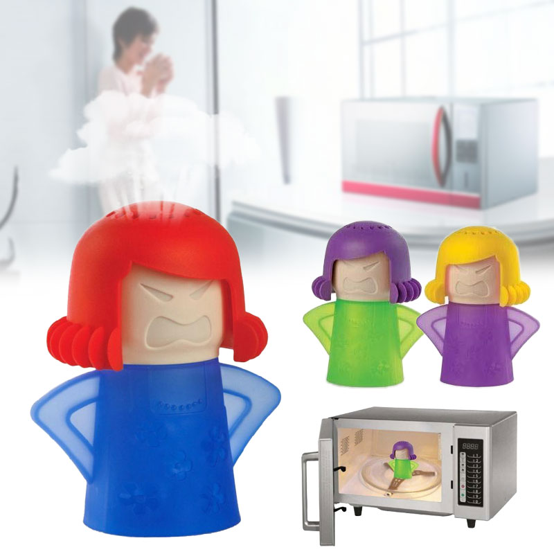 Useful Health Metro Angry Mama Microwave Cleaner Cooking Gadget Cleanser