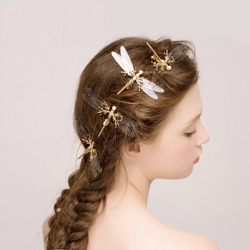 Dragonfly Hair Design