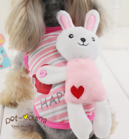 Kawaii Pet Shop Bunny Ear Dog Hoodies Dog Clothes Clothes For Dogs Puppy Colthes Maltese Yorkshire